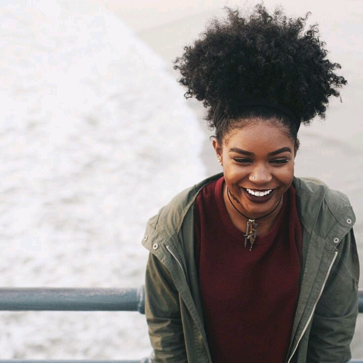 10 Curly High Puff Hairstyles On Natural Hair
